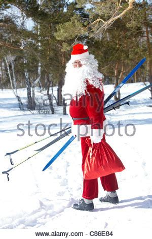 traditional skis stock photo, royalty free image: 15316303