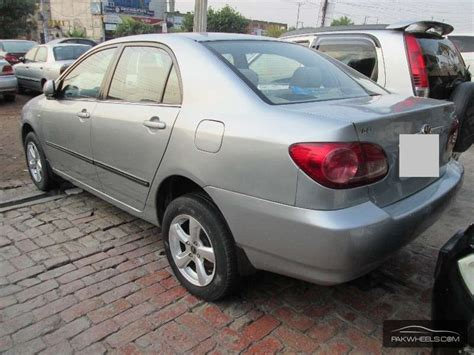 Toyota Corolla For Sale 2007 Used Toyota Corolla Gli 2007 Car For Sale In Faisalabad