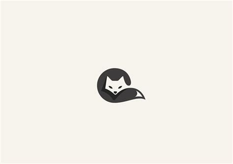 more adorable animal logos cleverly created with negative