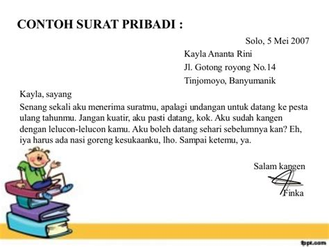 menulis surat