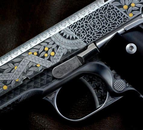 Moorish Design by Texas Firearms Engraver Otto Carter Completes Aesthetic