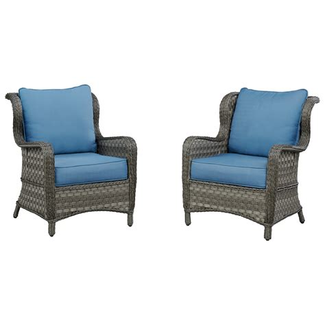 Patio Furniture Roswell Ga by Signature Design By Abbots Court Set Of 2 Outdoor