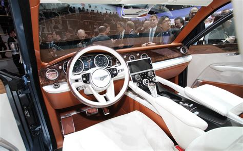 bentley suv inside bentley exp 9 f dash photo 15
