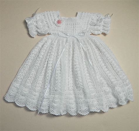pattern clothes baby victorian crochet lace free patterns christening crochet