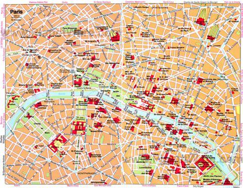 printable street map paris paris carte et image satellite