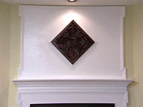 Fireplace Mantel Extension by Weekend Projects Extending The Space Above The Fireplace