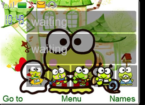 Keroppi Themes For Nokia Asha 210 | cute keroppi mobile themes for nokia asha 210