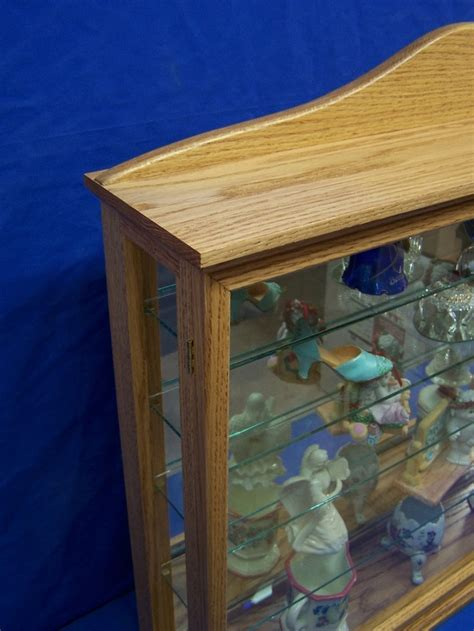 How To Build A Curio Cabinet by How To Build A Wall Mounted Curio Cabinet Woodworking