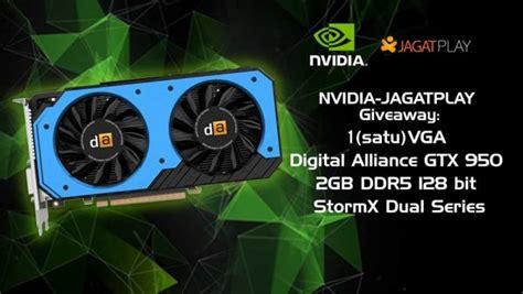 Digital Alliance Geforce Gtx 950 2gb Ddr5 Stormx Dual Series nvidia jagatplay giveaway 1 vga da gtx 950 2gb ddr5