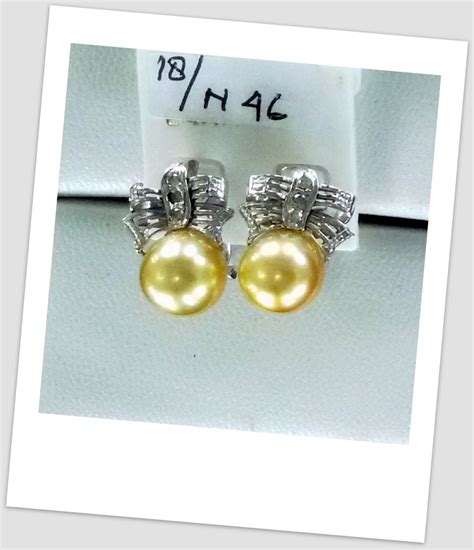 anting mutiara emas 0059 south sea pearl necklace price