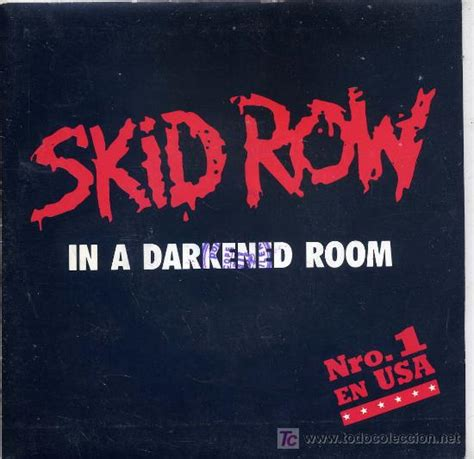 skid row in a darkened room skid row lyrics