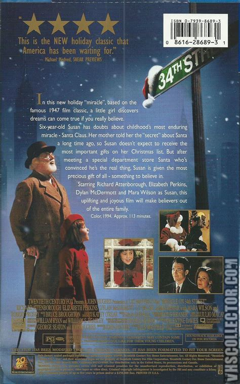 miracle on 34th miracle on 34th vhscollector your analog