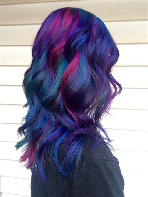 hairstyles multi colored highlights 17 best ideas about multicolored hair on pinterest
