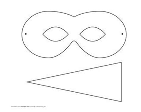 goose mask template bird mask template masks mask template