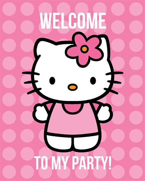 printable birthday cards hello kitty free all things simple simple celebrations hello kitty party