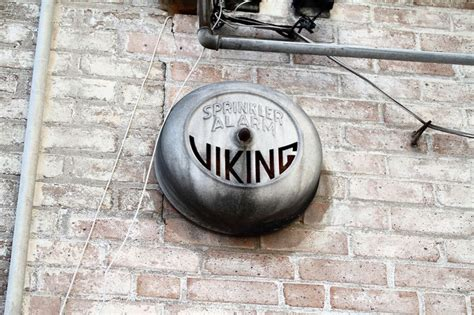 Alarm Gong Viking viking sprinkler alarms historic sprinkler bells