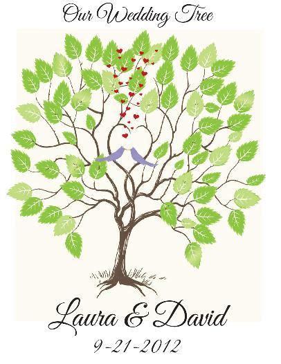 Wedding Tree by My Wedding Tree Quot Guestbook Quot Weddingbee