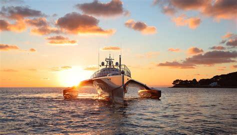 trimaran yacht galaxy fraser announces stunning 175 trimaran galaxy of