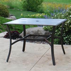 Backyard Creations Table Backyard Creations Somerset Dining Table At Menards 174