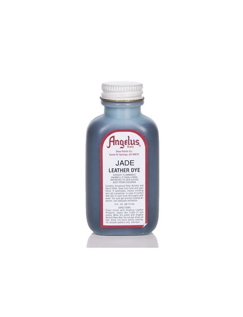 angelus paint patent leather angelus dyes paint jade 3oz leather dye leather