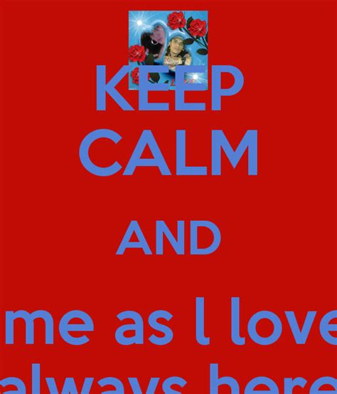 St Flove Baby Fit L keep calm and me as l you and lm always
