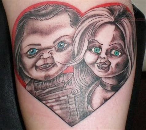 bride of chucky tattoo chucky images designs