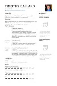 Resume Format Computer Operator Computer Operator Resume Samples Visualcv Resume Samples
