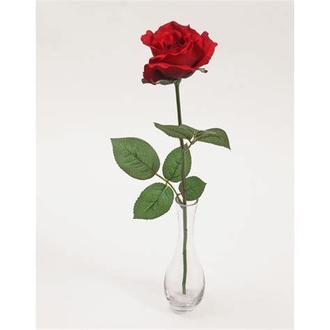 Red Silk Roses   Silk Roses For Sale   12th Anniversary Gift
