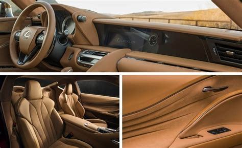 lexus lf lc interior lexus lc500 luxury coupe photos and info news car and