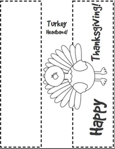 printable turkey headband template thanksgiving literacy activ by golden rule design