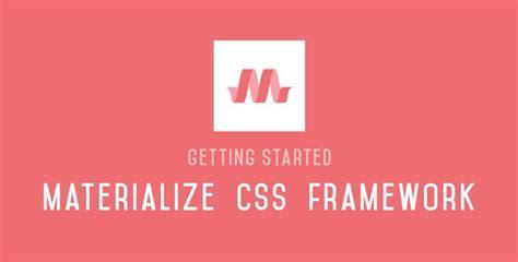 tutorial materialize css pagina tutorial demo utili per realizzare un sito web