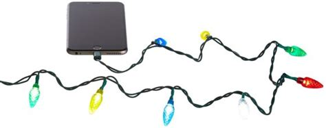 christmas light iphone charger christmas light usb iphone charger awesome stuff to buy