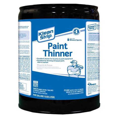 home depot paint thinner klean 5 gal paint thinner solvent ckpt94402 the