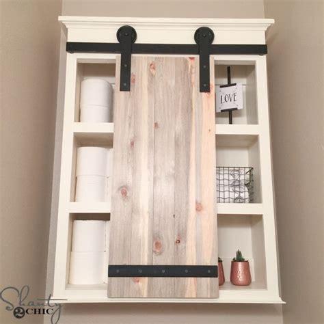 barn door medicine cabinet best 25 bathroom storage cabinets ideas on