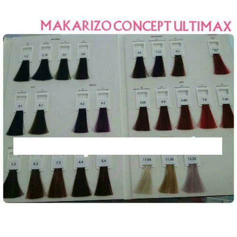 Harga Makarizo Cat Rambut jual makarizo concept ultimax colorant cat rambut makarizo