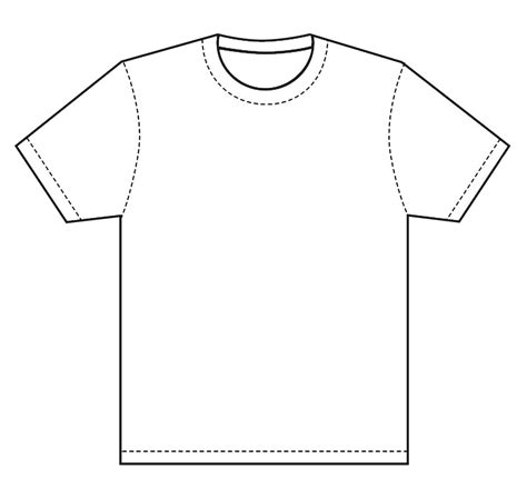 Drawing T Shirt Outline by T Shirt Template Design T Shirt Template This Is Great