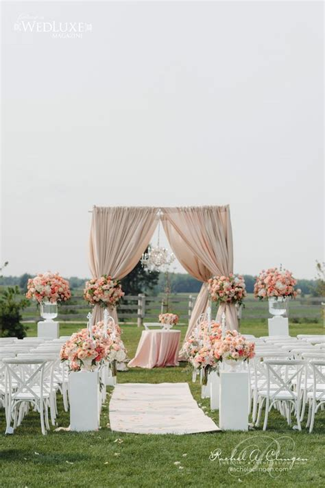 12 Gorgeous Wedding Ceremony Decor Ideas   Wedding