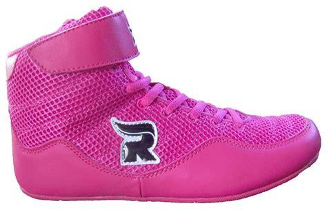 rasslin youth kids girls boys mma wrestling shoes pink