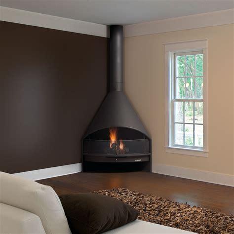 corner wood fireplace traforart fireplaces santiago corner wood and gas