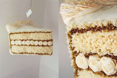 How To Make A Paper Mache Pinata - paper mache cake slice pinata by paperprimate on deviantart
