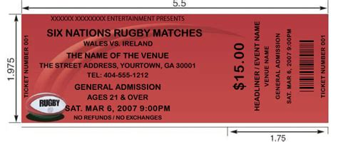 lights all ticket prices rugby tickets design and print your own rugby tickets