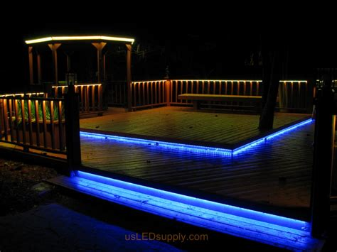 under deck lighting ideas led deck lighting