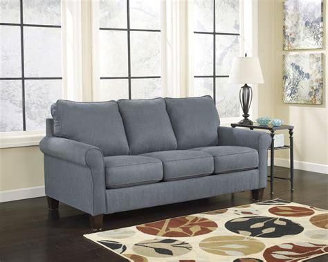 Sofa Sleeper Ashley Furniture Zeth Denim Full Sofa Sleeper Signature Design By Ashley