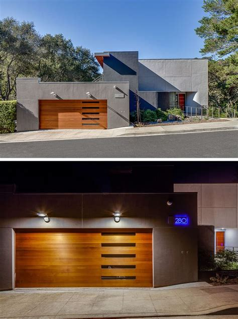 contemporary garage 17 best ideas about modern garage doors on pinterest