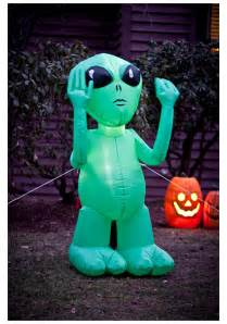 alien inflatable lawn decoration