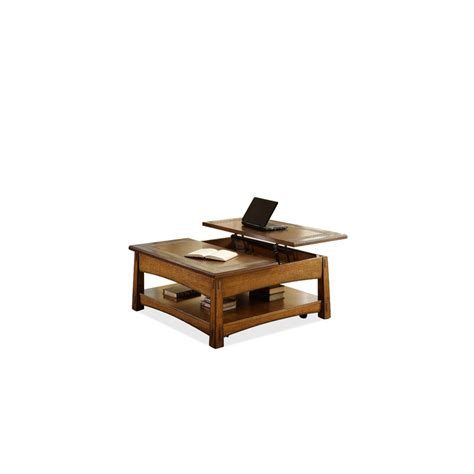 Square Lift Top Coffee Table Craftsman Home Square Lift Top Coffee Table Eaton Hometowne Furniture Eaton And Greater