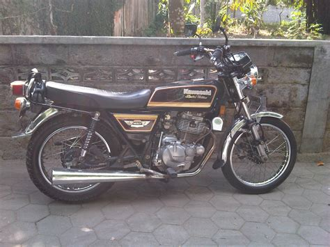 modifikasi kawasaki binter merzy kz200 classic and vintage motorcycles