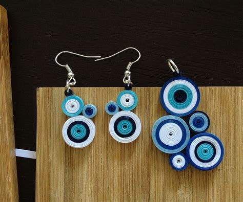 How To Make Paper Jewellery - quilled paper jewelry 4