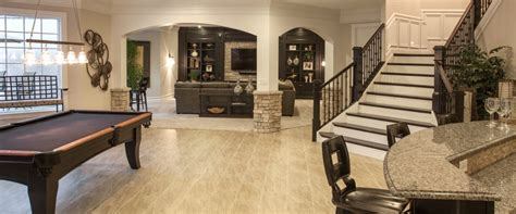 photo gallery of finished basements robert lucke homes