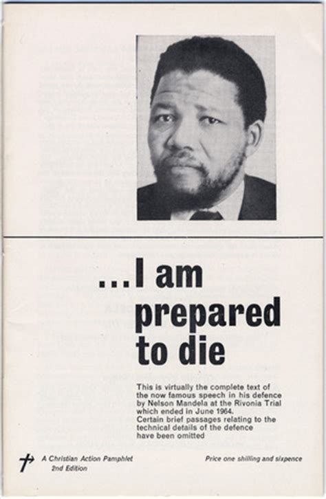 nelson mandela biography speech nelson mandela i am prepared to die by nelson mandela